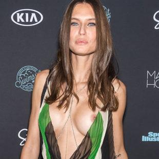 Bianca Balti Posing For Paparazzi In See Through