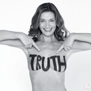 Paulina Porizkova Completely Nude Photoshoot – Sports Illustrated 2018