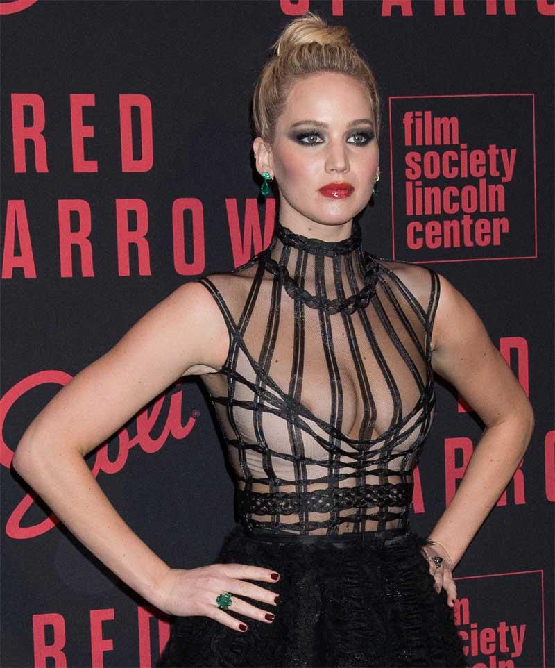 Shocking Nude Photo Scandal: Jennifer Lawrence Reportedly