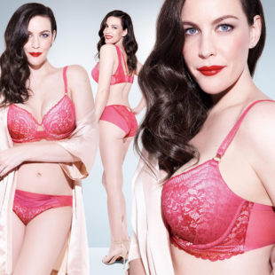Liv Tyler Posing In Sexy Lacy Lingerie