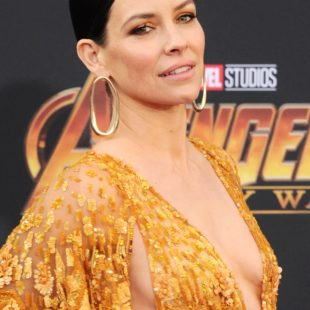 Evangeline Lilly Sexy During Avengers: Infinity War World Premiere