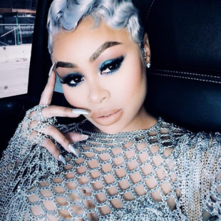 Blac Chyna Looking Hot In See Through