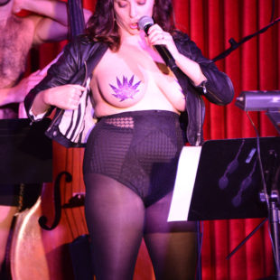 Rachel Bloom Topless With Pasties And Lingerie Photos