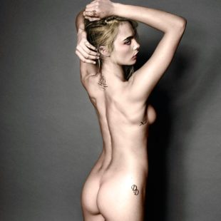 Model Cara Delevingne Poses Nude For Magazine & Leaked Pussy Photos