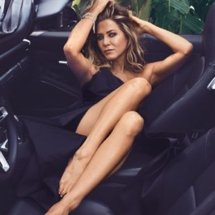 Jennifer Aniston See Through And Sexy Posing For InStyle Magazine
