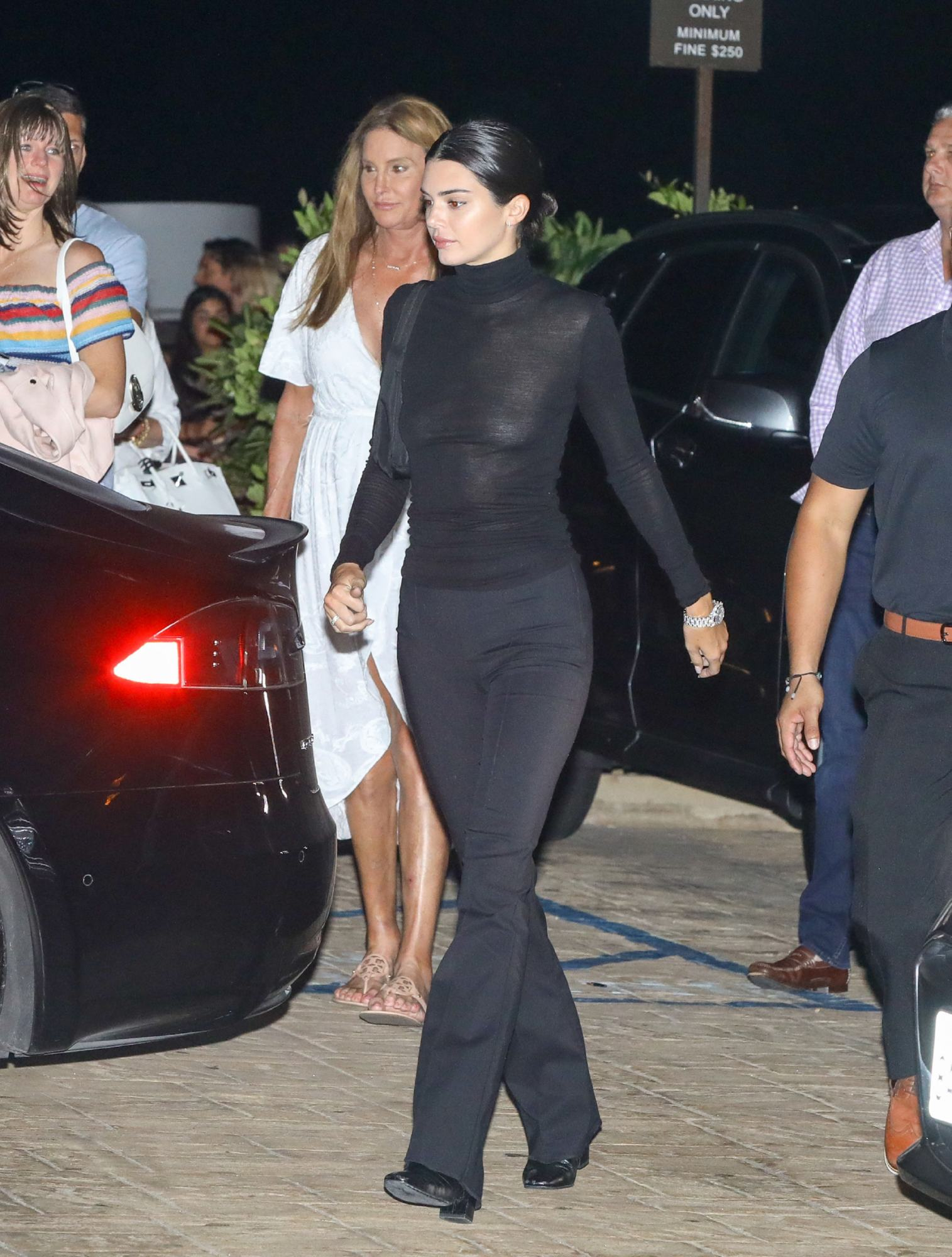 Kendall Jenner wore two naked dresses at Cannes Film