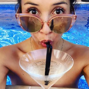 Myleene Klass Topless And Bikini Selfie Photos