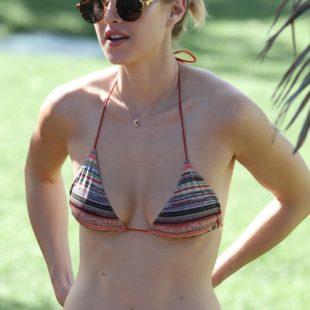 Whitney Port Tanning In Sexy Bikini On A Beach