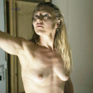 Dominique Swain Nude And Sexy In Nazi Overlord (2018)