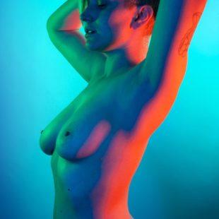 Gaby Dunn Posing Completely Naked