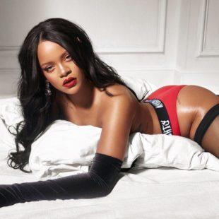 Rihanna Topless & Underwear Photoshoot