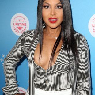 Toni Braxton Nipple Slip And Cleavage Photos