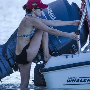 Andrea Corr Caught Tanning In Bikini