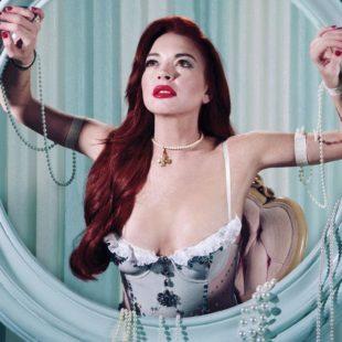 Lindsay Lohan Posing Sexy For Paper Magazine