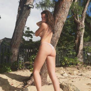 Lottie Moss Topless In Tiny Bikini