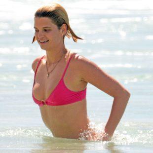 Singer Pixie Geldof Caught In Tight Wet Bikini