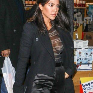 Kourtney Kardashian New See Through Photos