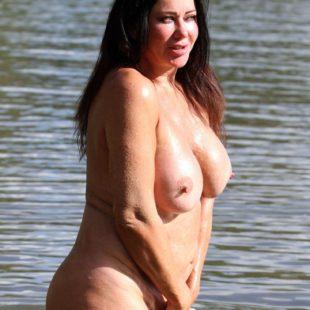 Lisa Appleton Completely Nude On A Beach