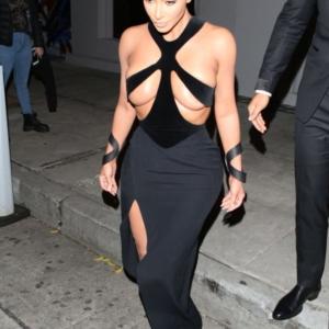 Kim kardashian boobs