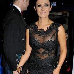 Kym Marsh Looking Sexy In See Through