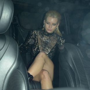 Lottie Moss See Through During The Love Magazine London Fashion Week Party