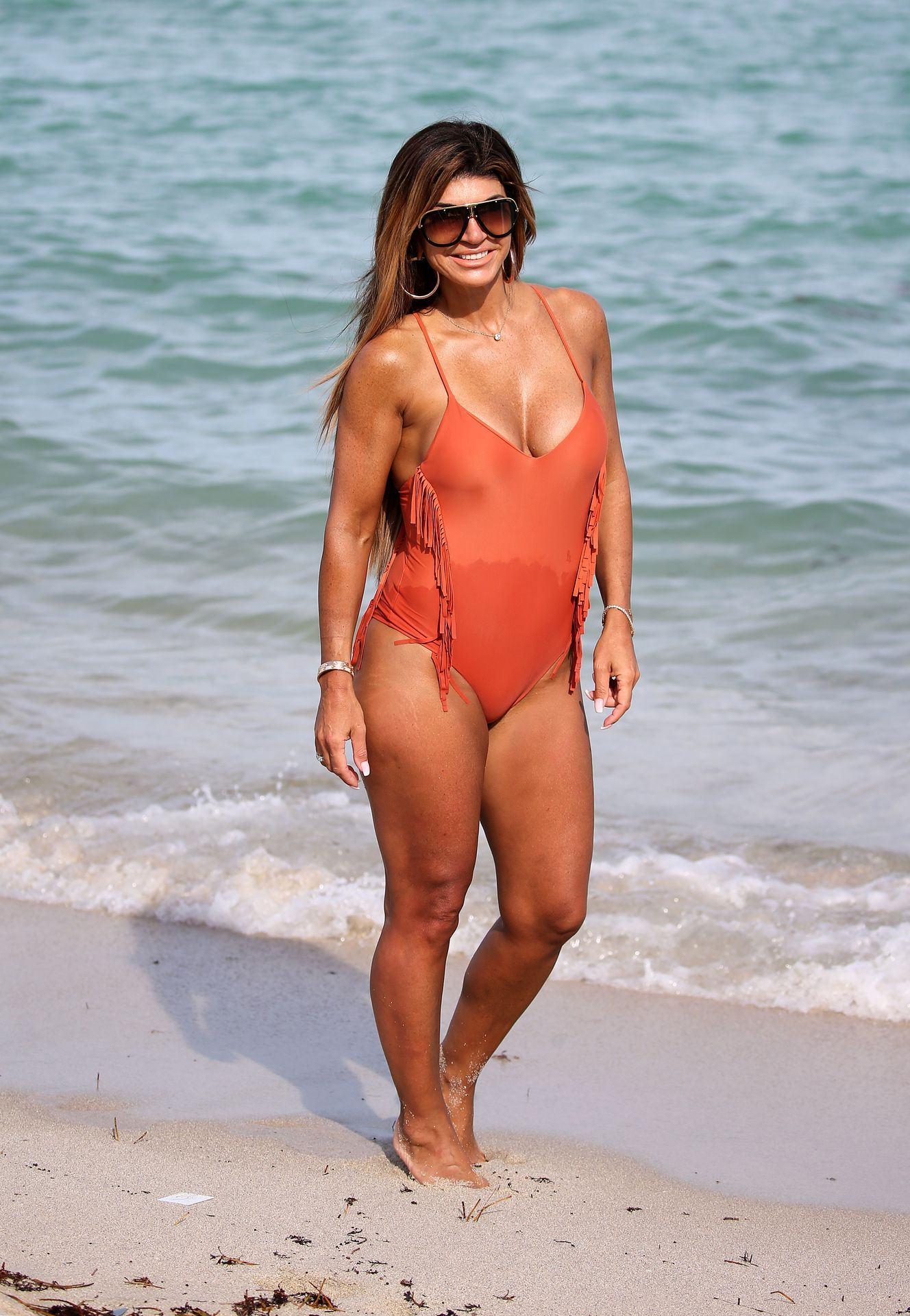 Real Housewives Of New Jersey Star Teresa Giudice Orange