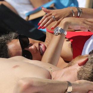 Jessica Ledon Nipple Slip And Thong Bikini Photos