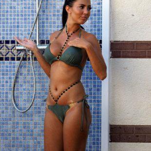 Yazmin Oukhellou Caught Sunbathing In Bikini With Boyfriend