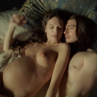 Pregnant Anna Brewster Nude In Versailles