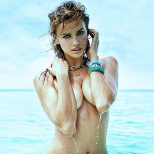 Irina Shayk Topless And Hot Lingerie Photos