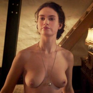 Lily James Nude And Sexy Photos