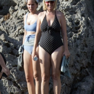 Pop Singer Katy Perry Caught Wearing Tight Swimsuit