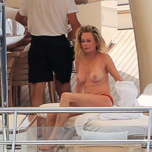 Melanie Griffith Topless And Sexy Yacht Shots