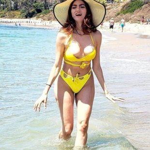 Blanca Blanco Nipple Slip & Bikini Shots