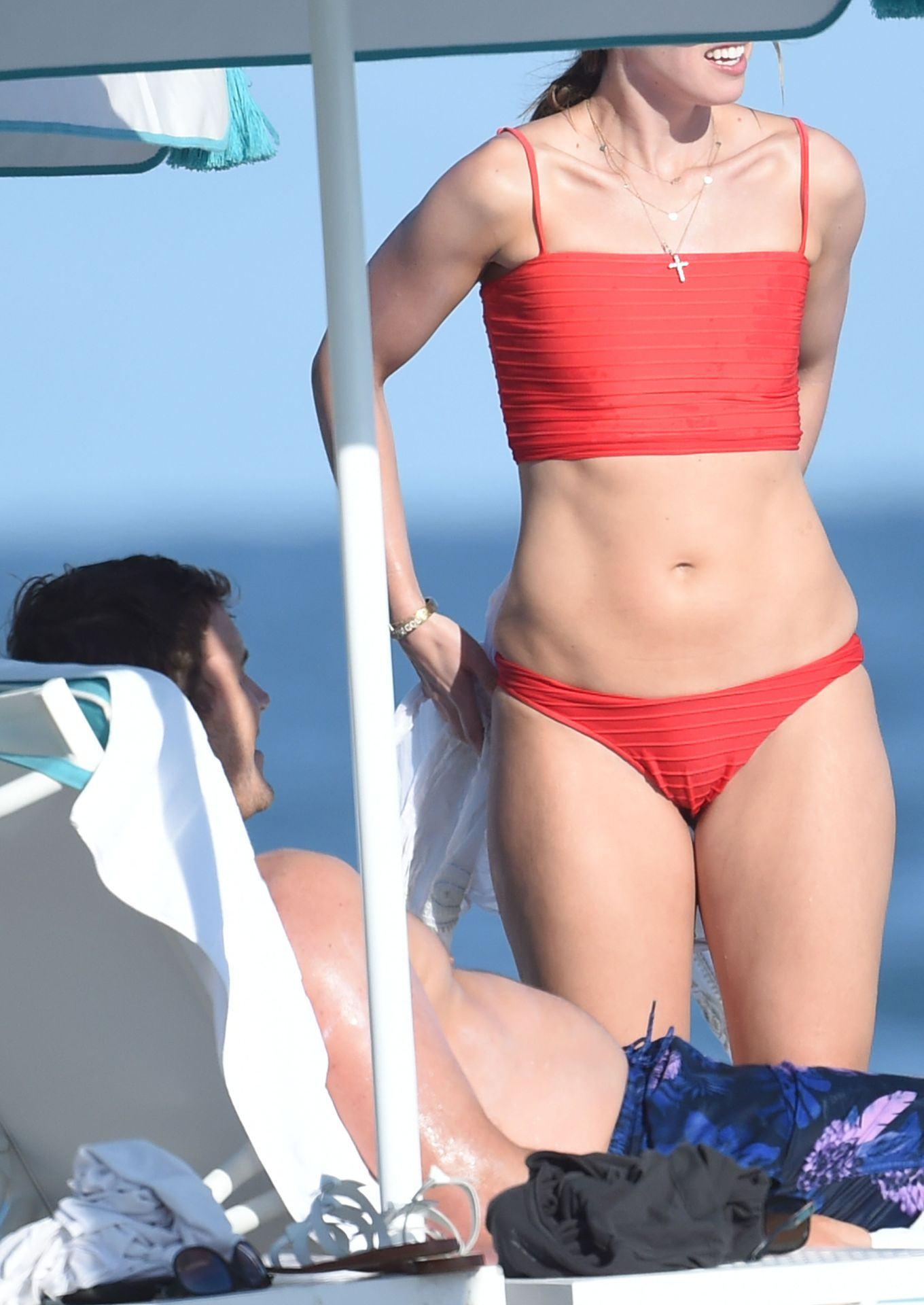 Katherine Schwarzenegger Paparazzi Bikini Beach Photos - Thefappening.link