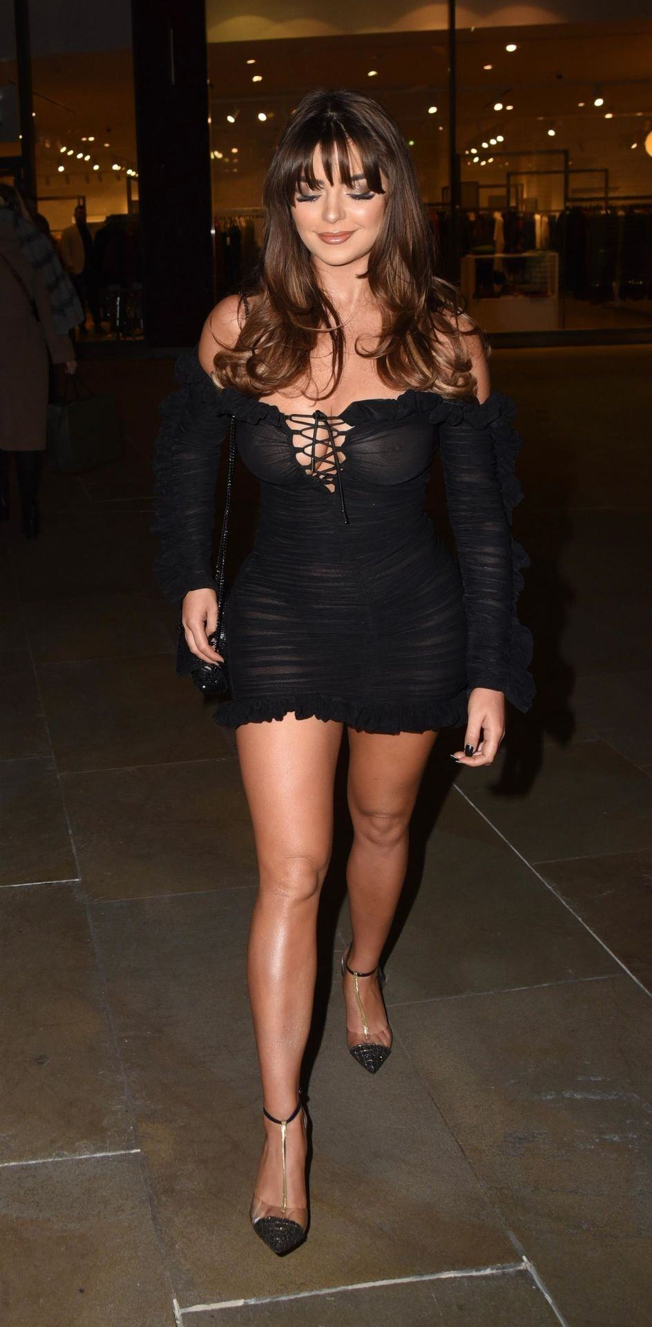 Demi Rose See Through No Bra Photos - Thefappening.link