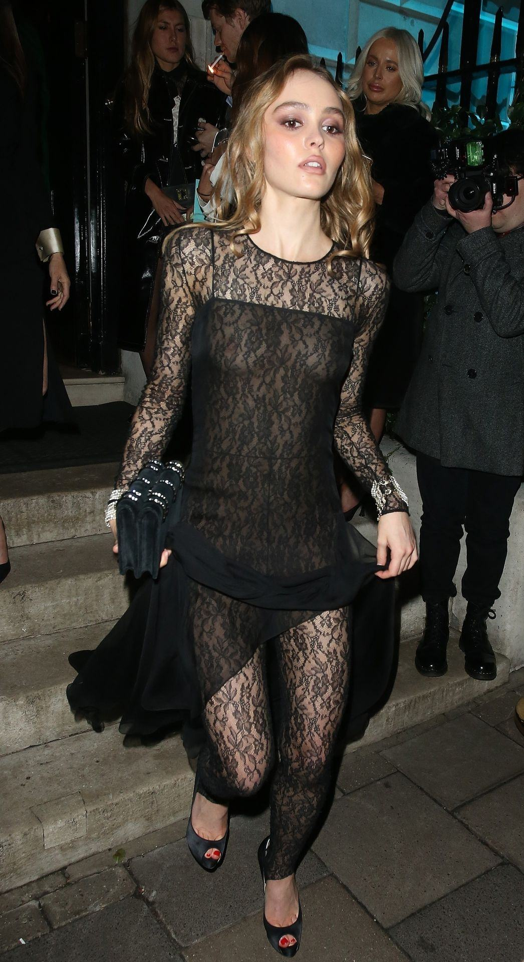 Lily-Rose Depp Oops See Through Photos - Thefappening.link