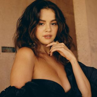 Selena Gomez Demonstrates Her Tits For Allure Magazine