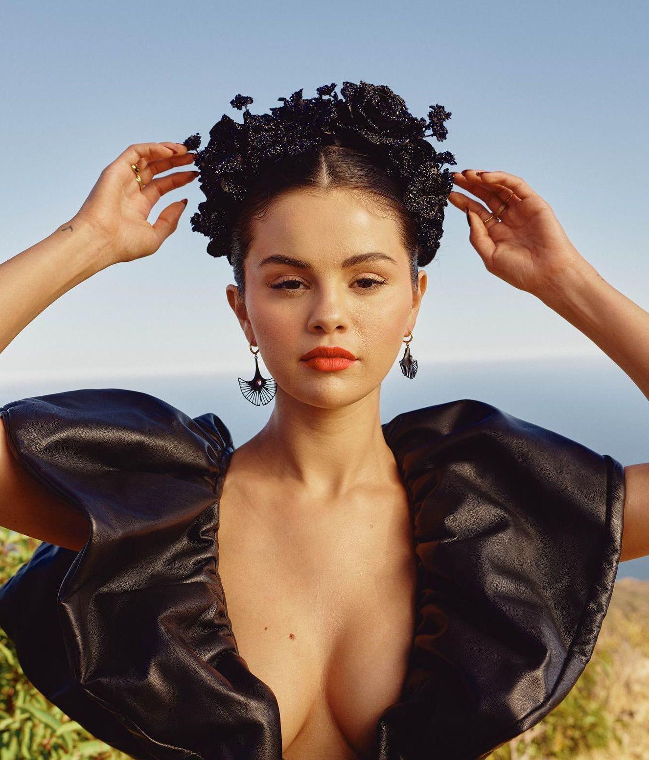 Selena Gomez Demonstrates Her Tits For Allure Magazine