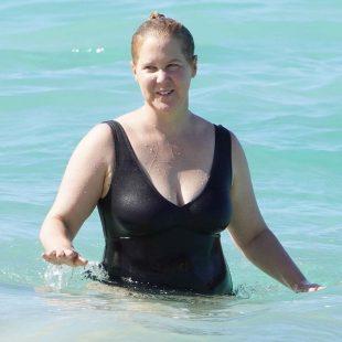 Amy Schumer Paparazzi Sexy Swimsuit Photos