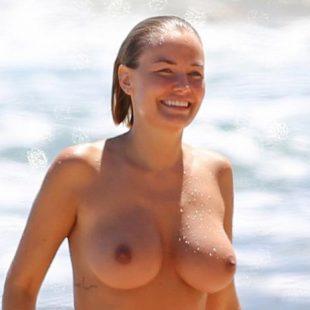 Lara Bingle Topless And Bikini Beach Photos
